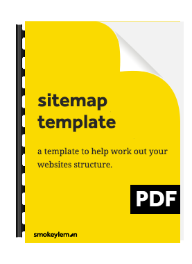 Download our sitemap template
